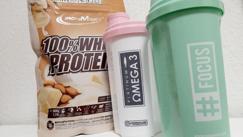 Erfahrung – IronMaxx White Choc-Almond